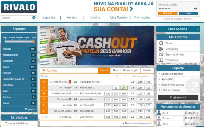 Apostas Rivalo on-line