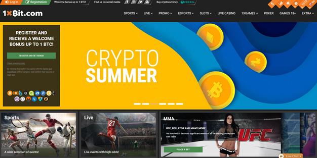 Bônus bitcoin 1xBit